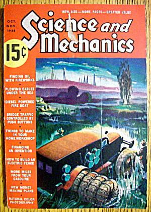 Science & Mechanics October/November 1938 Fire Boat (Image1)