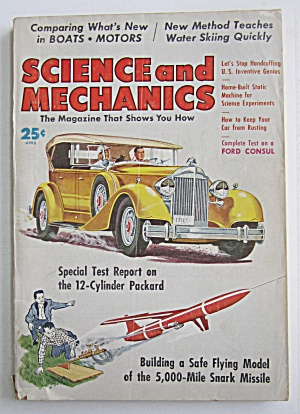 Science and Mechanics April 1958 Snark Missile (Image1)