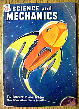 Science & Mechanics June 1944 Rocket Plane (Image1)