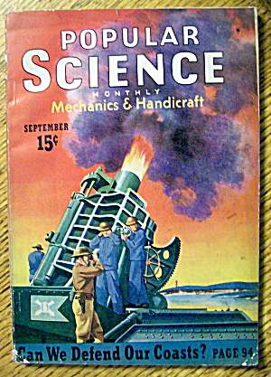 Popular Science September 1940 Can We Defend Our Coasts