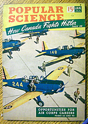 Popular Science January 1942 How Canada Fights Hitler