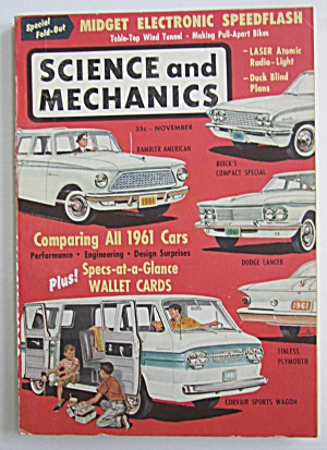Science and Mechanics November 1960 Comparing 1961 Cars (Image1)