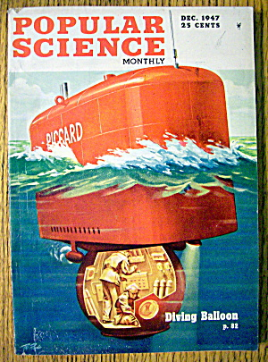 Popular Science December 1947 Diving Balloon (Image1)