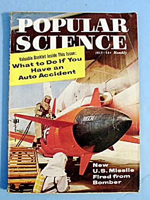 Popular Science July 1958 U.S. Missile Fired (Image1)