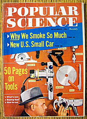 Popular Science December 1958 50 Pages On Tools