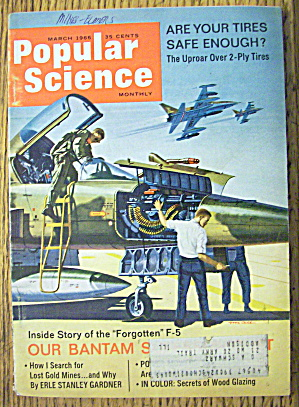 Popular Science March 1966 Are Your Tires Safe Enough