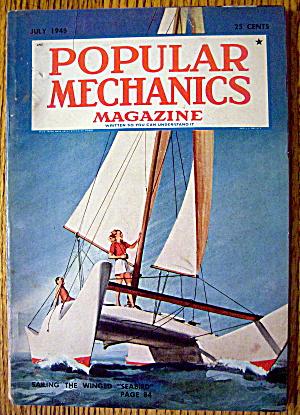 Popular Mechanics-July 1948-Sailing The Winged Seabird (Image1)