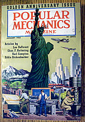 Popular Mechanics (Golden Anniversary)-January 1952 (Image1)