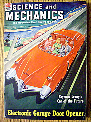 Science & Mechanics August 1950 Garage Door Opener