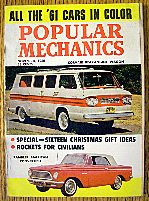 Popular Mechanics-november 1960-rockets For Civilians