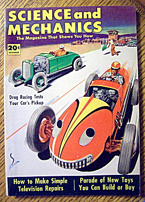 Science and Mechanics December 1952 Drag Racing Tests (Image1)