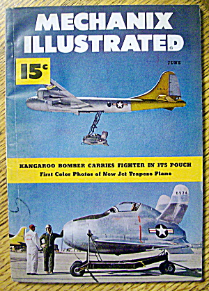 Mechanix Illustrated June 1949 Kangaroo Bomber