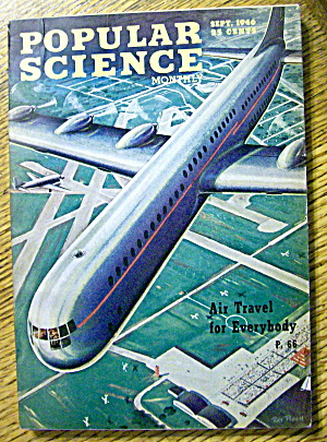 Popular Science September 1946 Air Travel For Everybody