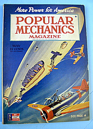 Popular Mechanics-May 1942-More Power For America (Image1)