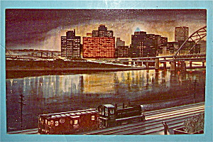 Pittsburgh's Golden Triangle Postcard (Image1)