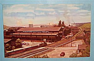 Structural Steel Works Of Bethlehem Postcard (Image1)