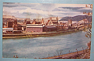 Duquesne Works Of U.S. Steel Corp Postcard (Image1)