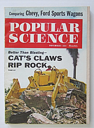 Popular Science November 1960 Cat's Claws Rip Rick