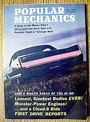 Popular Mechanics October 1965 3 Steps To The Moon (Image1)