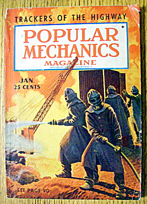 Popular Mechanics January 1939 Trackers Of The Highway