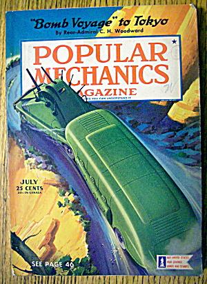 Popular Mechanics July 1942 Bomb Voyage To Tokyo (Image1)