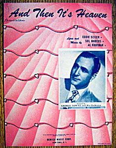 Sheet Music For 1946 And Then It's Heaven