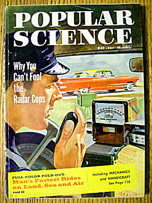 Popular Science May 1959 Can't Fool The Radar Cops