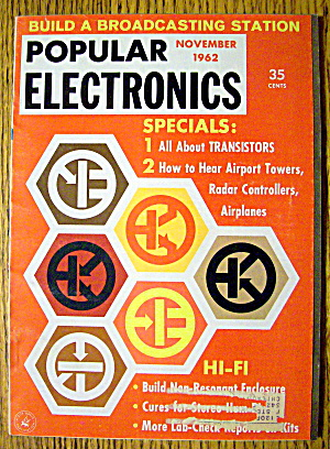 Popular Electronics November 1962 Broadcasting Station