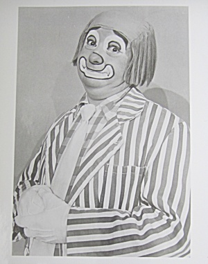 1970's Photo Of Bozo's Circus Cookie The Clown