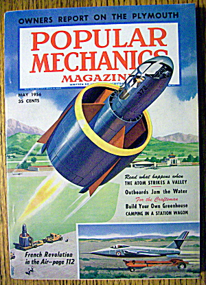 Popular Mechanics May 1956 Atom Strikes A Valley
