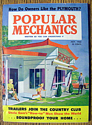 Popular Mechanics July 1960 Soundproof Your Home