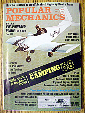 Popular Mechanics May 1968 Build Vw-powered Plane