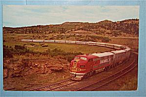 Raton Pass Postcard (Highest Point On Santa Fe RR) (Image1)