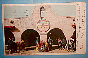 The Indian and Mexican Building Postcard (Image1)