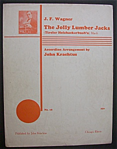 Sheet Music For 1931 The Jolly Lumber Jacks (Image1)