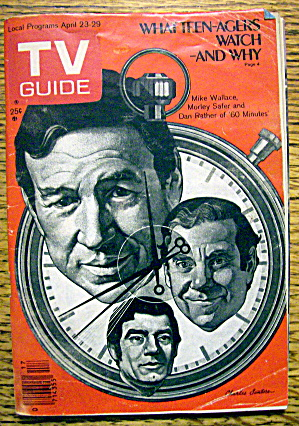Tv Guide-april 23-29, 1977-60 Minutes