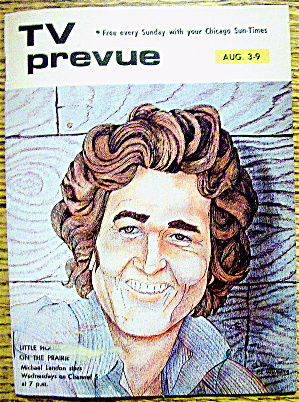 Tv Prevue-august 3-9, 1975-michael Landon