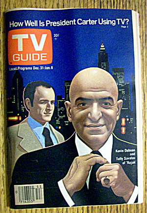 Tv Guide-december 3-january 6, 1977-kojak
