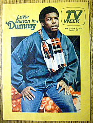 Tv Week-may 27-june 2, 1979-levar Burton (Dummy)
