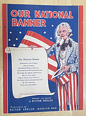 1942 Our National Banner Sheet Music  (Image1)