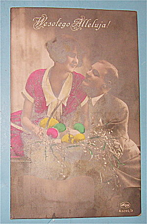 Lovers At Easter (Polish) Postcard (Image1)