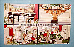 The Schlitz Assembly Postcard