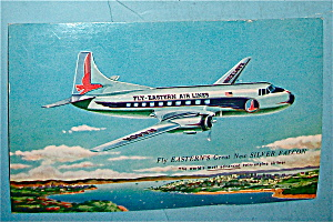 Eastern Airlines Silver Falcon Postcard (Image1)