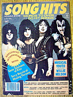 Song Hits June 1983 Kiss (Gene Simmons)