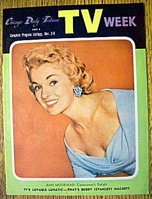 Chicago Tv Week November 3-9, 1956 Jean Moorhead
