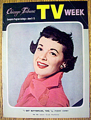 Chicago TV Week June 9-15, 1956 Gisele MacKenzie (Image1)