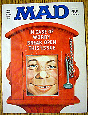 Mad Magazine #167 June 1974 Break Open This Issue (Image1)
