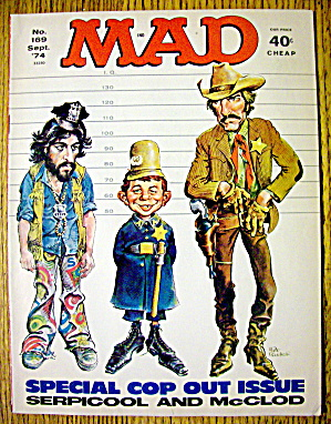 Mad Magazine #169 September 1974 Mcclod