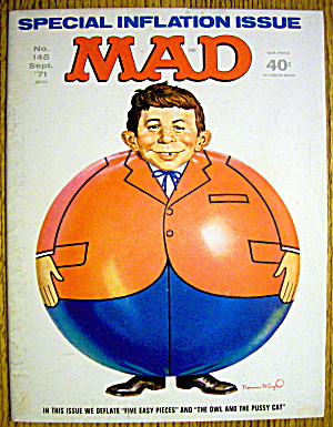 Mad Magazine #145 September 1971 Inflation Issue (Image1)