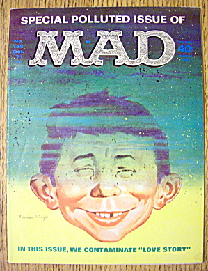 Mad Magazine #146 October 1971 Love Story (Image1)